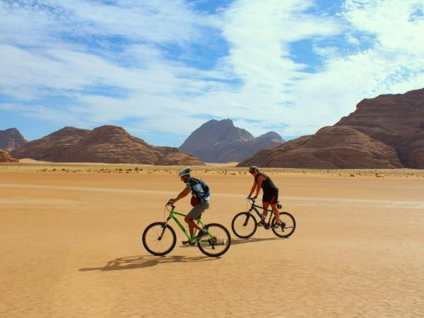Jordan cycling tour