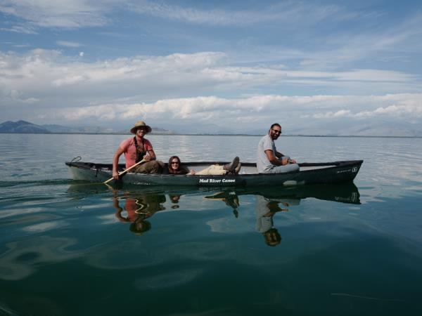 Canoeing vacation in Montenegro, Lake Skadar
