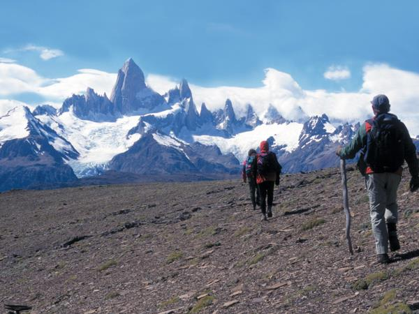 Hiking vacation in Patagonia