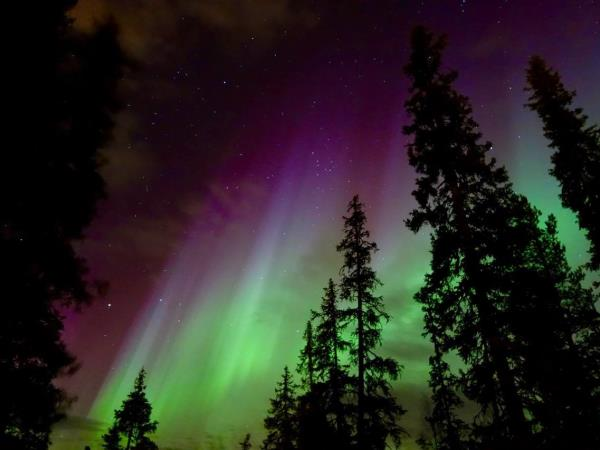 Finnish Lapland Autumn Northern Lights vacation