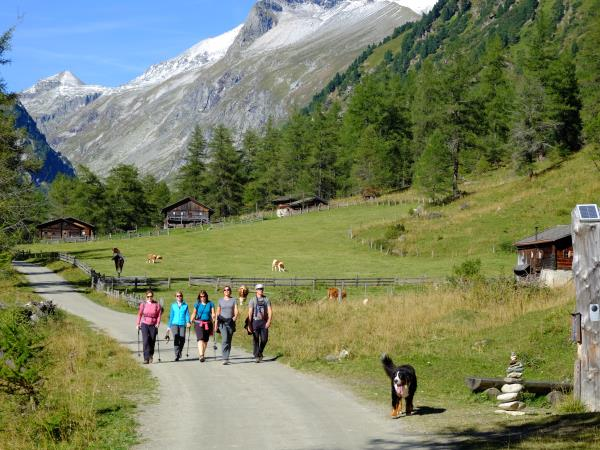 Austrian walking vacation