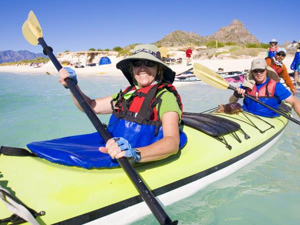 Baja sea kayak adventure in Mexico