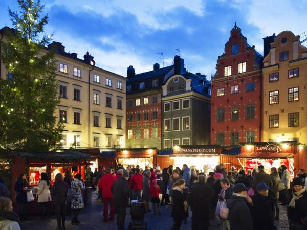 Christmas markets short break to Stockholm, Sweden
