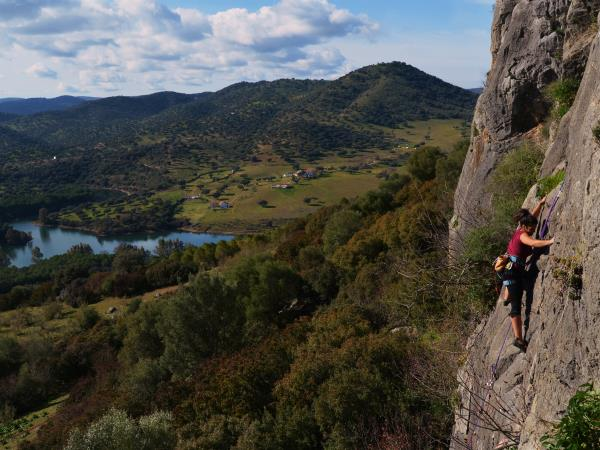 Rock climbing vacation in Andalusia