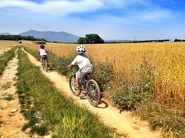 Catalonia family mountain biking & activity vacation, Spain