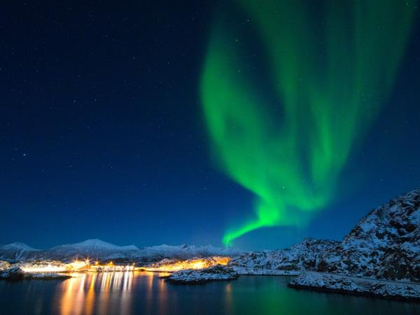 Norway Northern Lights vacation, Senja Island