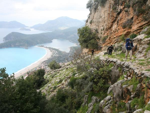 Lycian way walking holiday