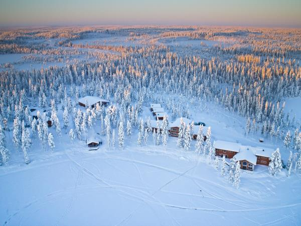 Swedish Lapland winter activity vacation