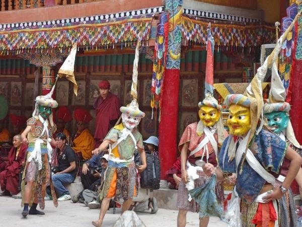 Ladakh and Kashmir tour, The Hemis festival