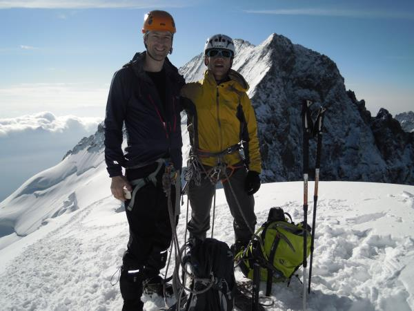 French Alps climbing vacation, short break