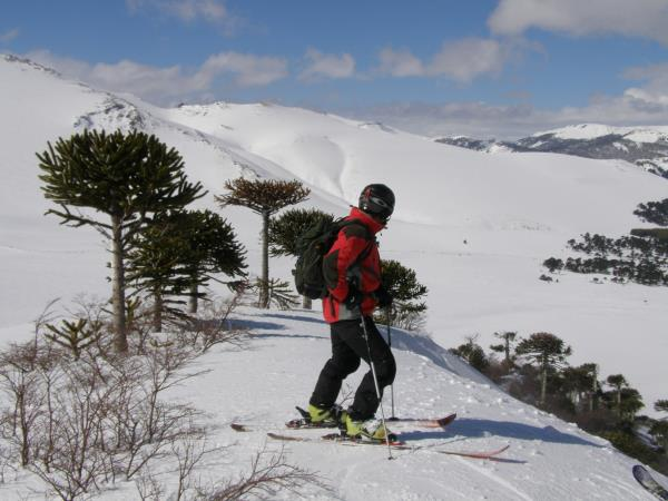 Chile ski touring vacation