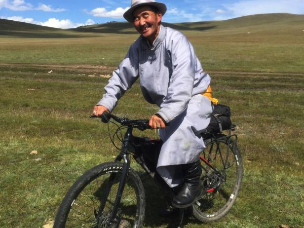 Wilderness biking vacation in Mongolia