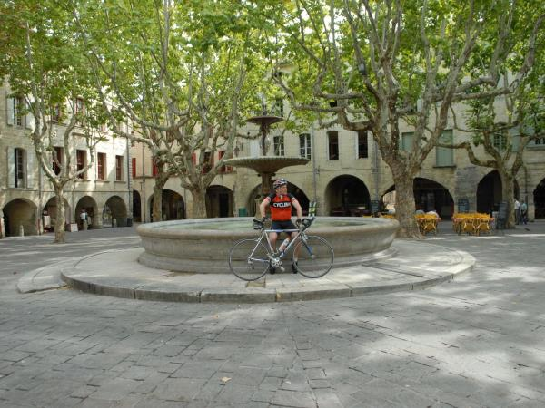 Provence biking tour, France