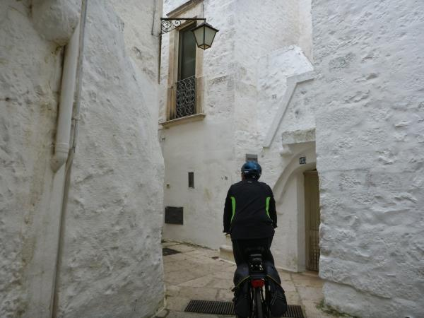 Italy cycling vacation, Matera to Lecce
