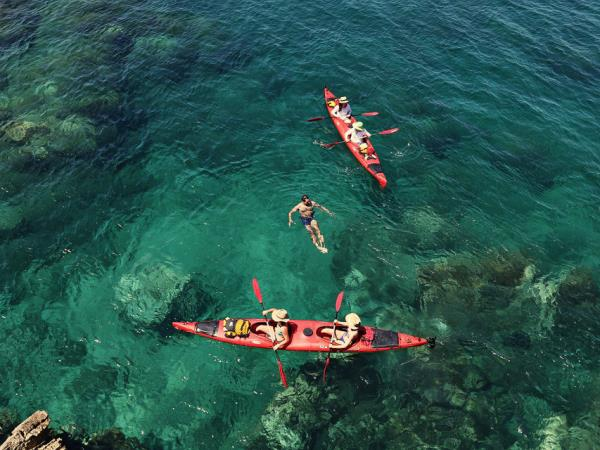 Kayak or SUP vacation in Croatia