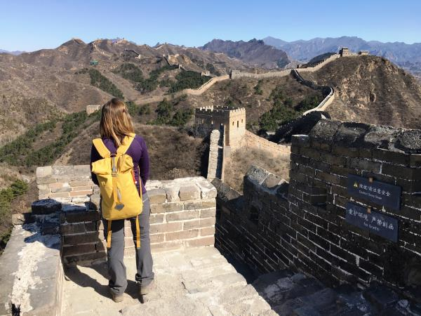 Hiking vacation in China, history and culture