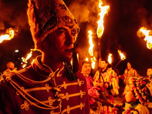 Bulgaria winter festivals photography tour