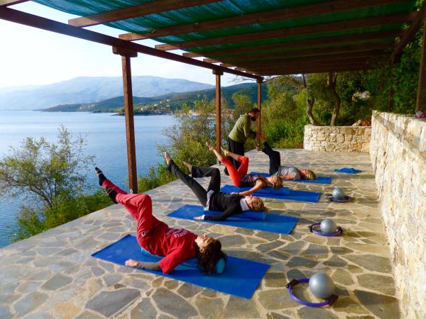 Pilates wellness retreat in Greece