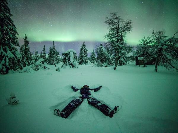 Boxing day vacation in Finnish Lapland