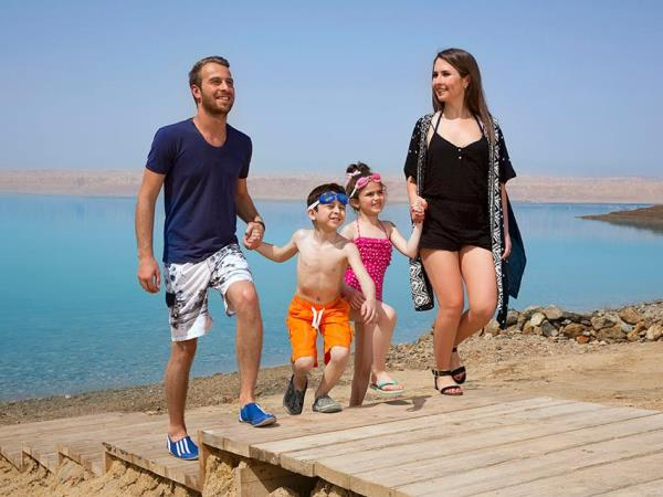 Family tour of Jordan
