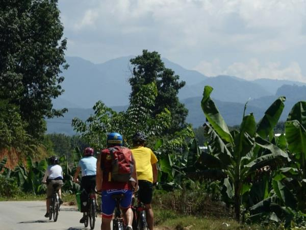 Golden Triangle cycling tour in South East Asia