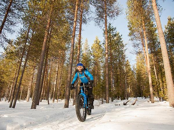 Fat biking vacation in Finland