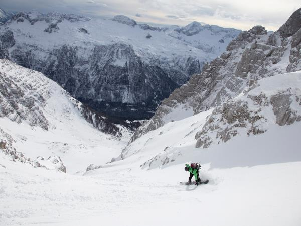 Slovenia ski touring vacation