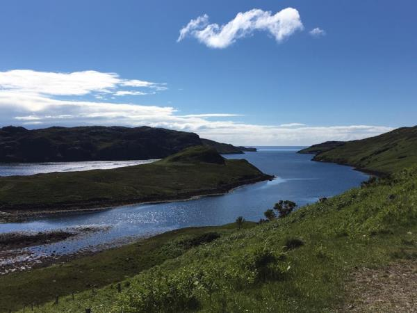North Coast 500 cycling tour in Scotland