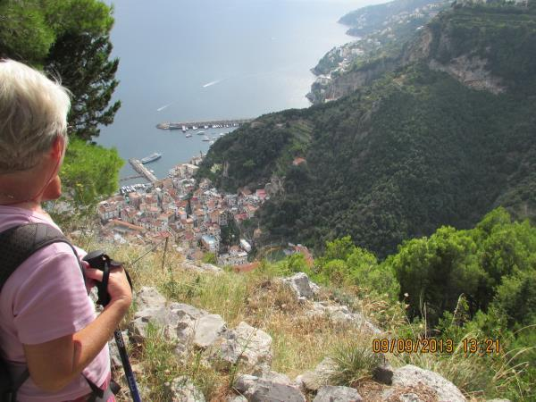 Maiori to Positano Amalfi Coast walking vacation