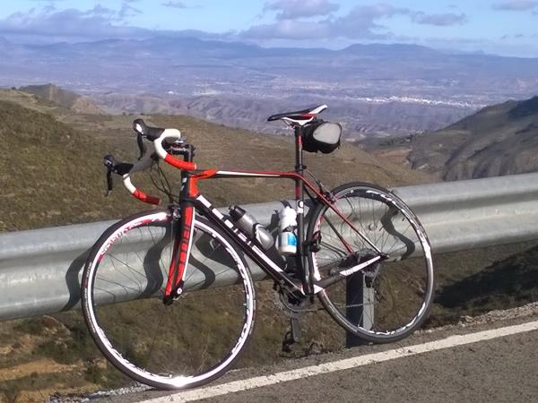 Southern Spain road cycling vacation, 6 days