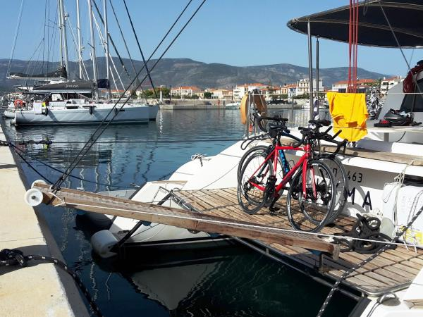 Sailing and biking Cyclades vacation, Greece