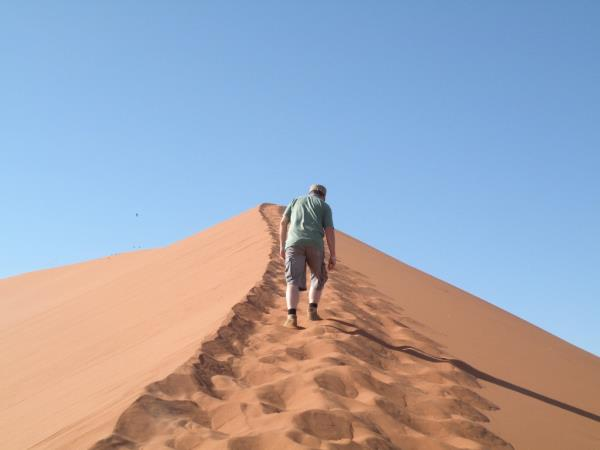 Privately guided Namibia vacation
