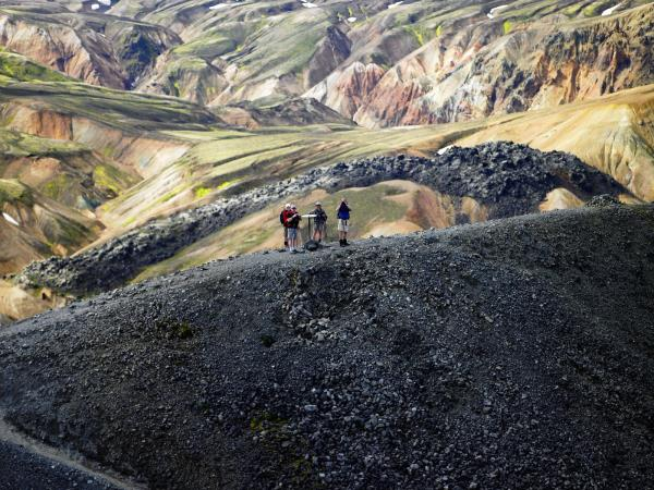 Laugavegur Trail trekking vacation in Iceland