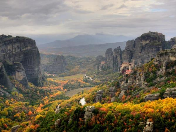 Mount Olympus and Meteora walking vacation, Greece