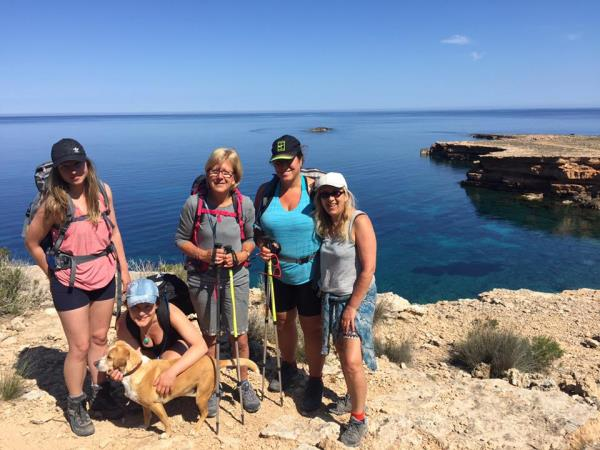 Ibiza island walking adventure vacation