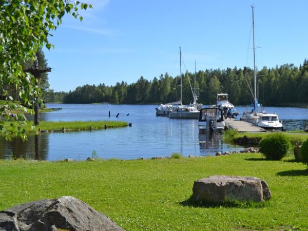 Lake District of Finland and Helsinki family vacation by train