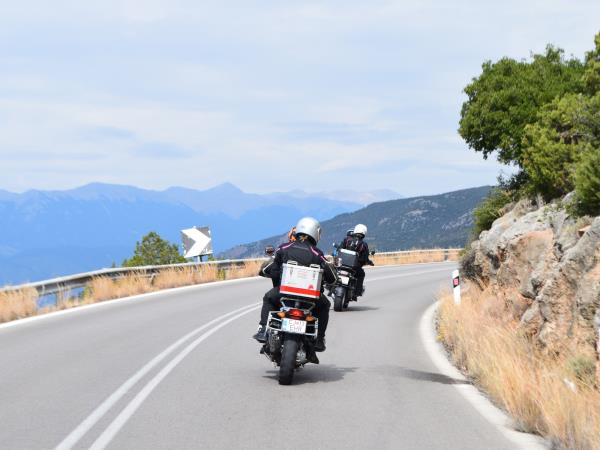 Motorcycle tour of Greece