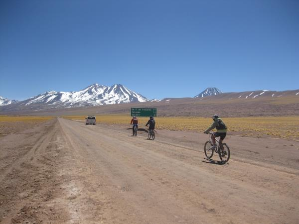 Cycling vacation in Atacama Desert