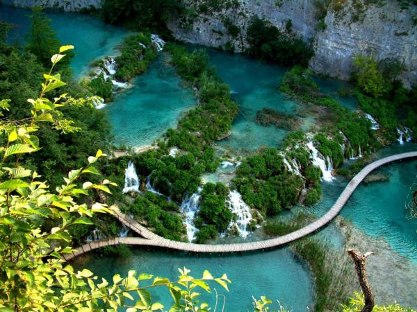 Croatia national parks hiking vacation