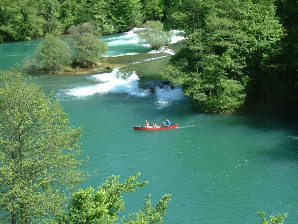 Croatia river kayaking vacation