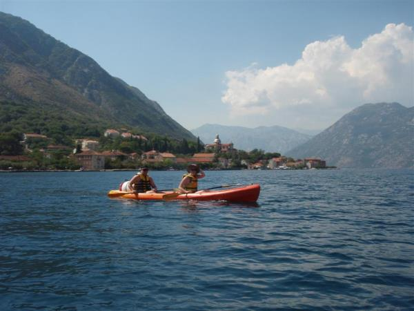 Montenegro family activity vacation