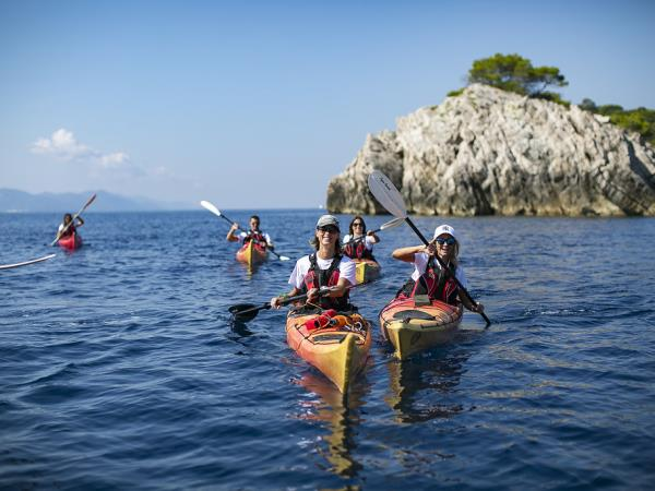 Montenegro and Croatia kayaking vacation