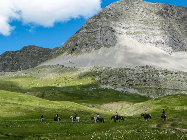 Wilderness riding vacation in Montenegro