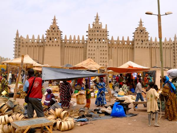 Mali tour, Mud Mosques and the Dogon