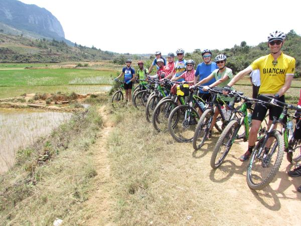 Madagascar cycling vacations