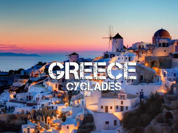 Cyclades sailing holiday in Greece