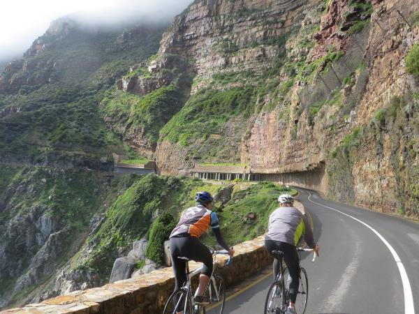South Africa cycling vacation
