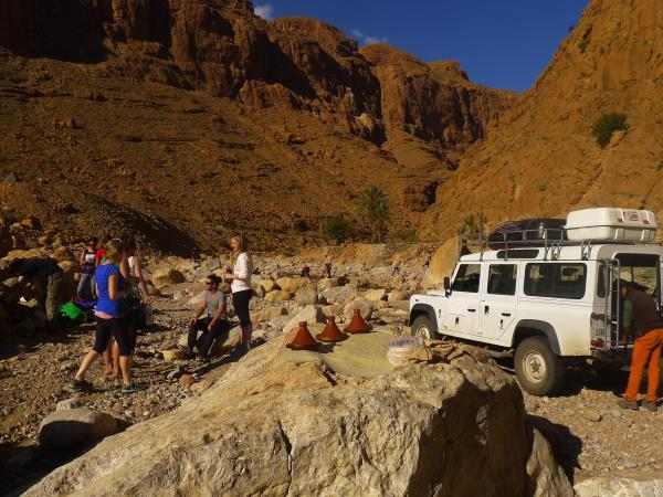 Morocco rock climbing & yoga vacation