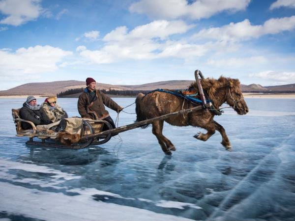 Mongolia tour, winter landscapes and Khovsgol ice festival
