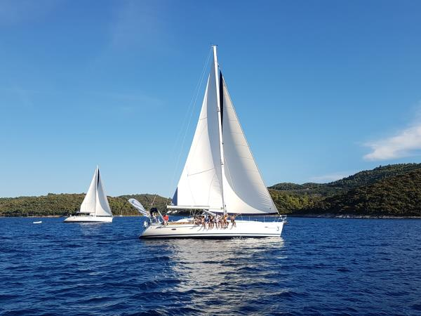 Dalmation Coast yacht charter in Croatia, 8-12 people